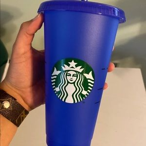 Color changing cup BLUE